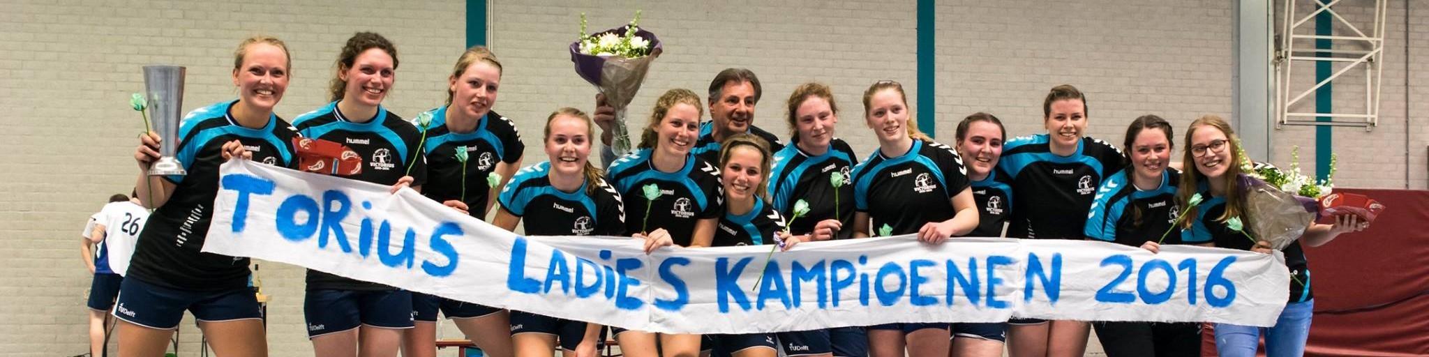 Ladies champion banner